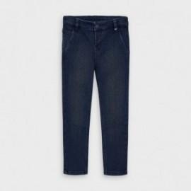 Spodnie jeansowe chłopięce Mayoral 4530-5 kolor granatowy