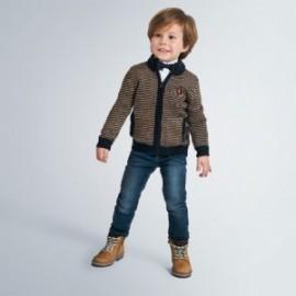 Sweter rozsuwany chłopięcy Mayoral 4337-26 kolor granatowy
