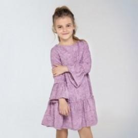 Sukienka dla dziewczynki Mayoral 7958-37 kolor fioletowy