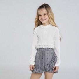 Spódnico-spodnie dla dziewczynki Mayoral 7951-89 kolor szary