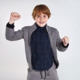 Sweter rozsuwany chłopięcy Mayoral 7339-70 kolor szary