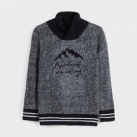 Sweter z półgolfem chłopięcy Mayoral 7321-20 kolor granatowy