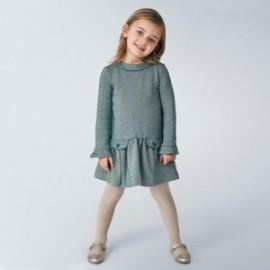 Sukienka dla dziewczynki Mayoral 4970-91 kolor zielony