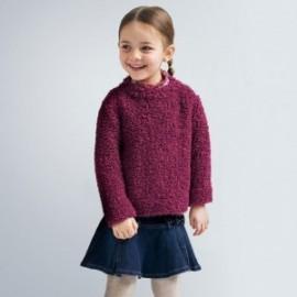 Sweter dla dziewczynki Mayoral 4346-73 kolor Wiśnia