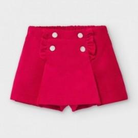 Spódnico-spodnie dziewczęce Mayoral 2942-22 kolor czerwony