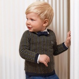 Sweter chłopięcy Mayoral 2343-57 kolor granatowy