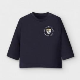 Koszulka z długim rękawem chłopięca Mayoral 2036-34 kolor granatowy
