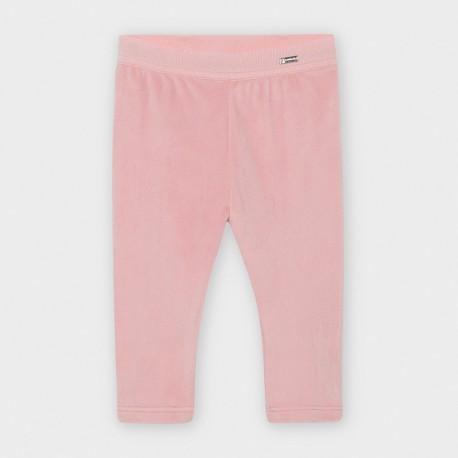 Leginsy aksamitne dla dziewczynki Mayoral 727-32 Różowy