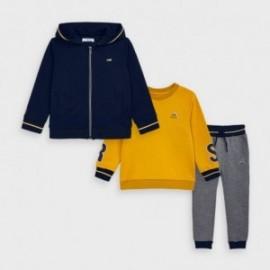 Dres 2 bluzy i spodnie chłopięcy Mayoral 4819-23 Żółty