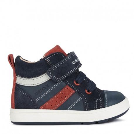 Sneakersy chłopięce Geox B044DA-0CL22-C4244 granat