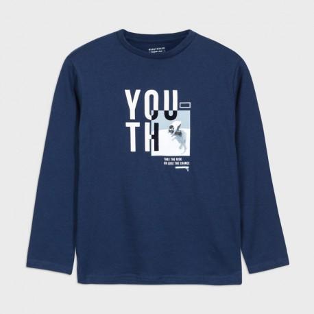 Koszulka d/r skate park chłopiec Mayoral 7047-73 Jagoda