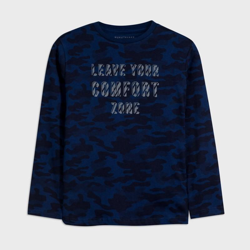 Koszulka moro chłopięca Mayoral 7046-78 Granatowy