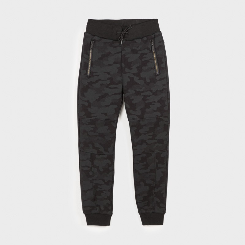 Spodnie dresowe chłopięce Mayoral 7522-45 Czarny