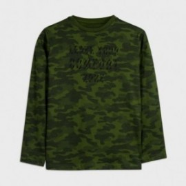 Koszulka moro chłopięca Mayoral 7046-77 Zielony