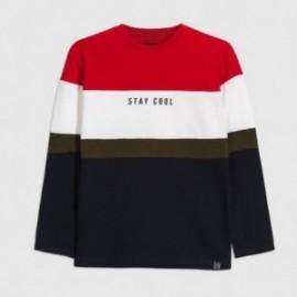 Koszulka z długim rękawem chłopięca Mayoral 7056-71 Czerwony