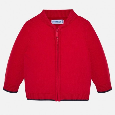 Sweter na stójce na zamek dla chłopca Mayoral 361-75