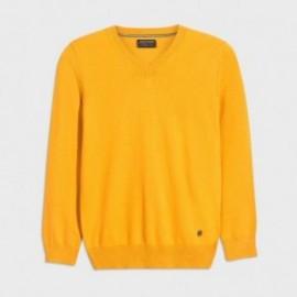 Sweter w serek chłopięcy Mayoral 354-78 Żółty