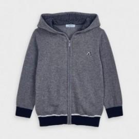 Bluza trykotowa dla chłopca Mayoral 4338-91 szara