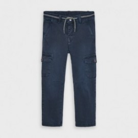Spodnie z kieszeniami chłopięce Mayoral 4534-26 Granatowy
