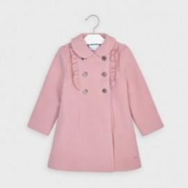 Płaszcz dla dziewczynki Mayoral 4409-72 Różowy