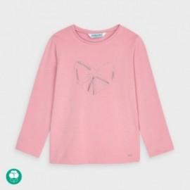 Koszulka z długim rękawem dziewczęca Mayoral 178-77 różowa