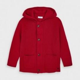 Bluza elegancka dla chłopców Mayoral 4340-66 Czerwona