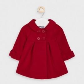 Płaszczyk elegancki dziewczęcy Mayoral 2466-45 Czerwony