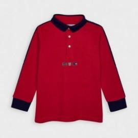 Koszulka polo dla chłopca Mayoral 4130-38 Czerwony