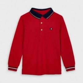 Koszulka polo dla chłopców Mayoral 4137-42 Czerwony