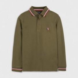 Koszulka polo chłopięca Mayoral 7126-38 Oliwkowa