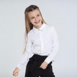 Bluzka elegancka dla dziewczynek Mayoral 7138-87 Kremowa