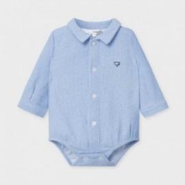 Body koszulowe dla chłopców Mayoral 2778-14 niebieskie