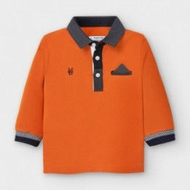Koszulka polo dla chłopca Mayoral 2121-30 pomarańczowa