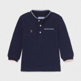 Koszulka polo ze stójką chłopięca Mayoral 1111-42 Granatowy