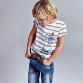 Bermudy jeansowe dla chłopców Mayoral 3239-11 niebieskie