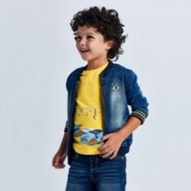 Koszulka z krótkim rękawkiem dla chłopców Mayoral 3034-76 żółta