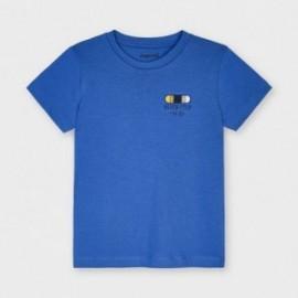 Koszulka z krótkim rękawkiem dla chłopców Mayoral 3042-65 niebieska