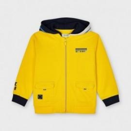 Bluza z kapturem dla chłopców Mayoral 3414-38 Żółty