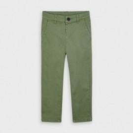 Spodnie klasyczne dla chłopców Mayoral 513-84 zielone