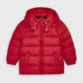 Kurtka zimowa dla chłopców Mayoral 412-72 czerwona