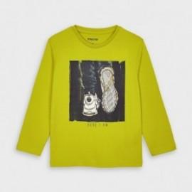 Koszulka z długim rękawem chłopięca Mayoral 4057-32 Zielony