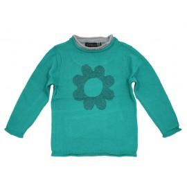Losan sweter 526-5200AD zielony