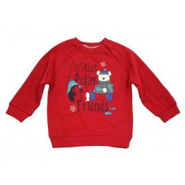 Losan bluza 527-6652AC czerwona
