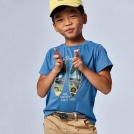 Koszulka z krótkim rękawem chłopięca Mayoral 3030-55 Niebieski