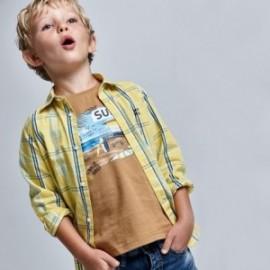 Koszulka z krótkim rękawem chłopięca Mayoral 3031-60 Brązowy