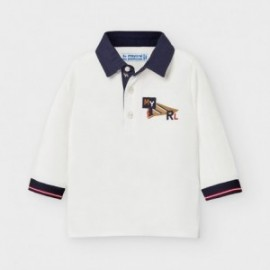 Koszulka polo chłopięca Mayoral 2126-18 Śmietanka