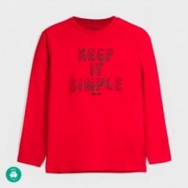 Koszulka z długim rękawem chłopięca Mayoral 842-59 Czerwony