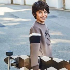 Bluza sportowa dla chłopaka Mayoral 7455-51 Szary