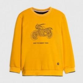 Bluza bez kaptura chłopięca Mayoral 7461-83 Żółty
