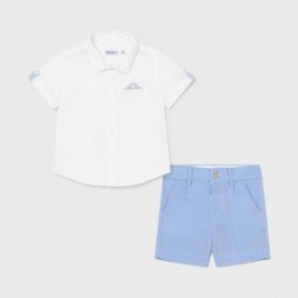 Komplet elegancki dla chłopca Mayoral 1252-30 Niebieski